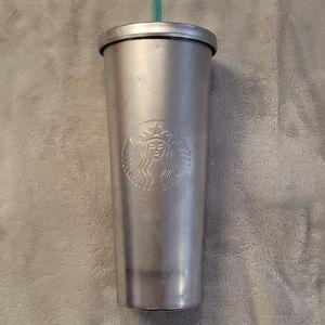 Starbucks big metal tumbler